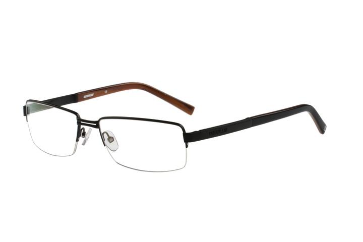 caterpillar e01 004 black caterpillar glasses frames