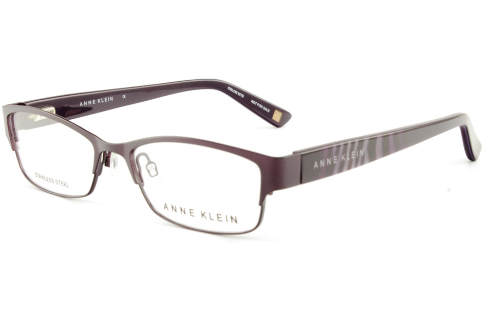 anne klein ak5025 511 eggplant anne klein glasses frames from all4eyes