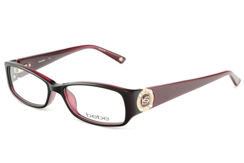 bebe BB5060 GLITZY 612 RUBY | bebe glasses frames from All4Eyes