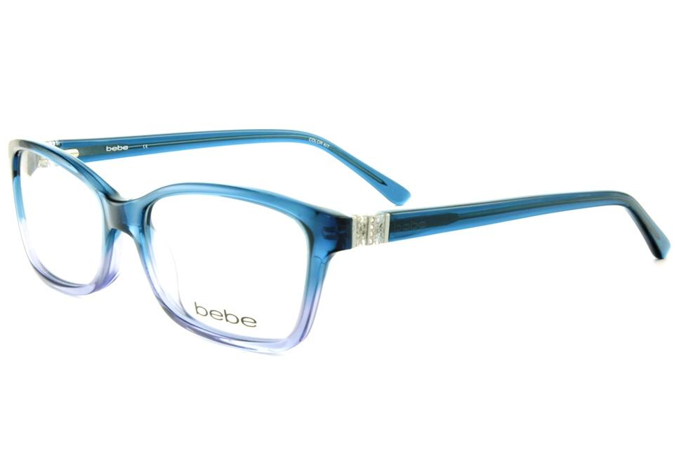 bebe BB5085 LOVE SICK 416 MIDNIGHT FADE | bebe glasses frames from ...