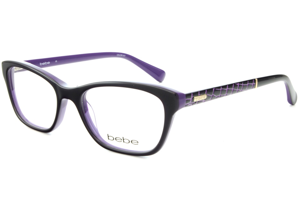 e5685d846d2f bebe BB5103 OOH LA LA 513 PURPLE | bebe glasses frames from All4Eyes