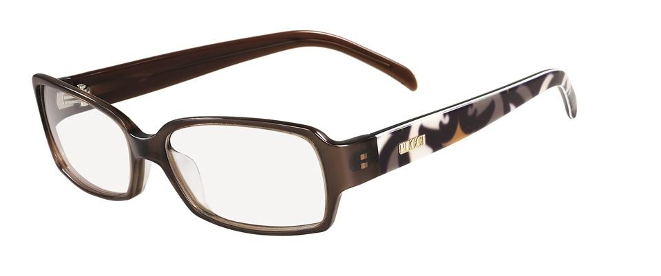 emilio pucci ep2652 207 chestnut emilio pucci glasses