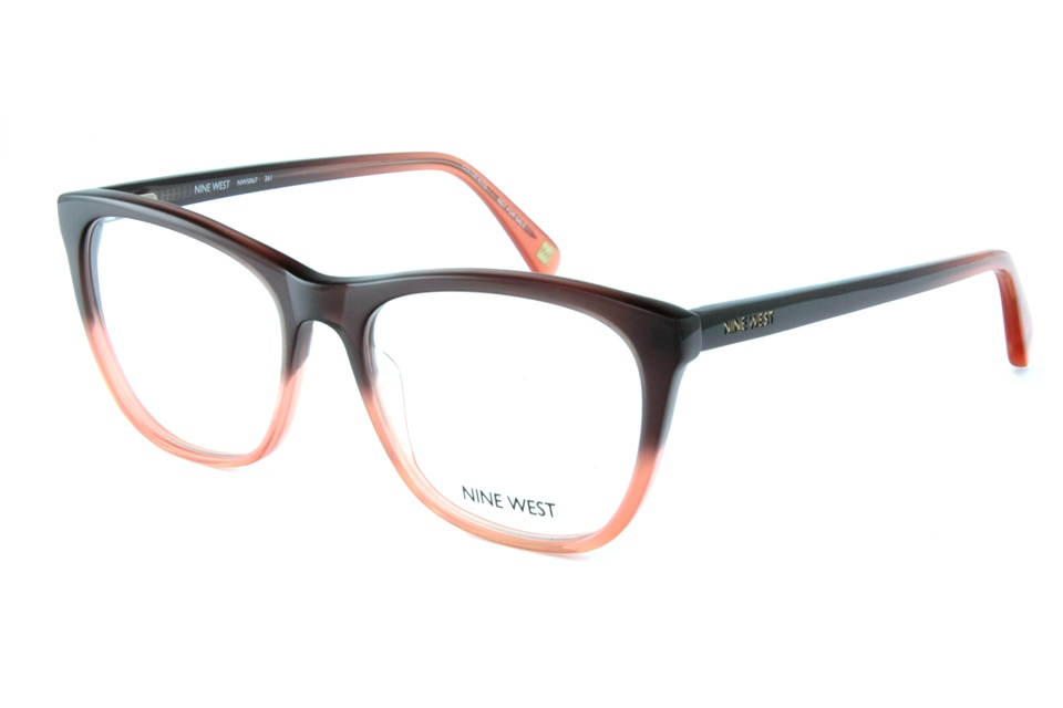 nine west nw5067 261 brown ombre nine west glasses frames from all4eyes