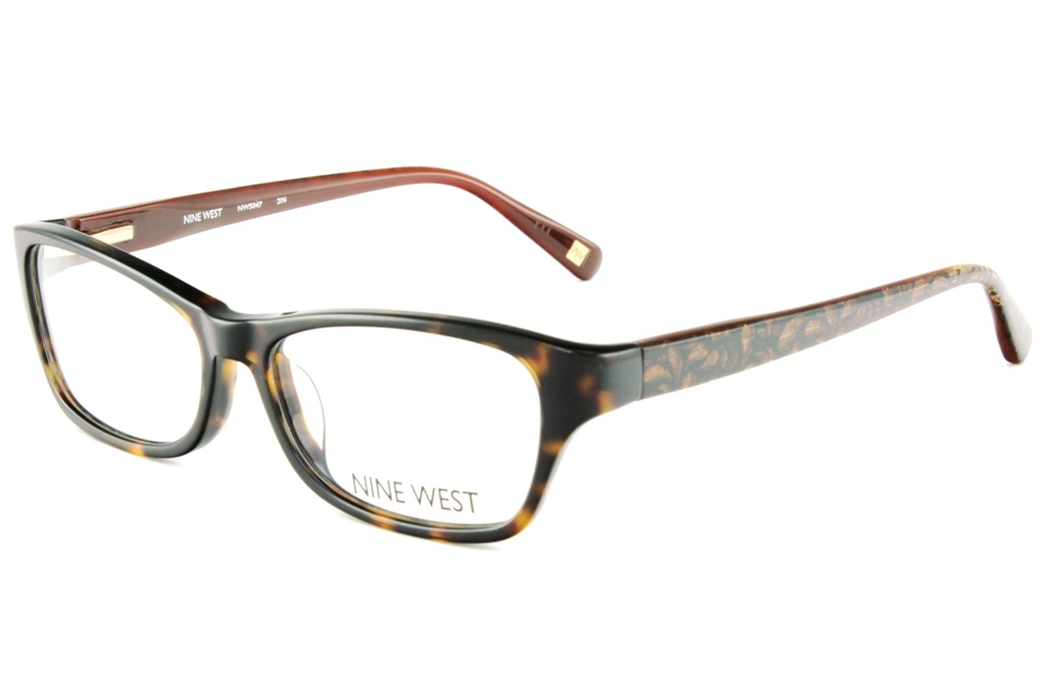 nine west nw5014 eyegles frames prescription lenses fit