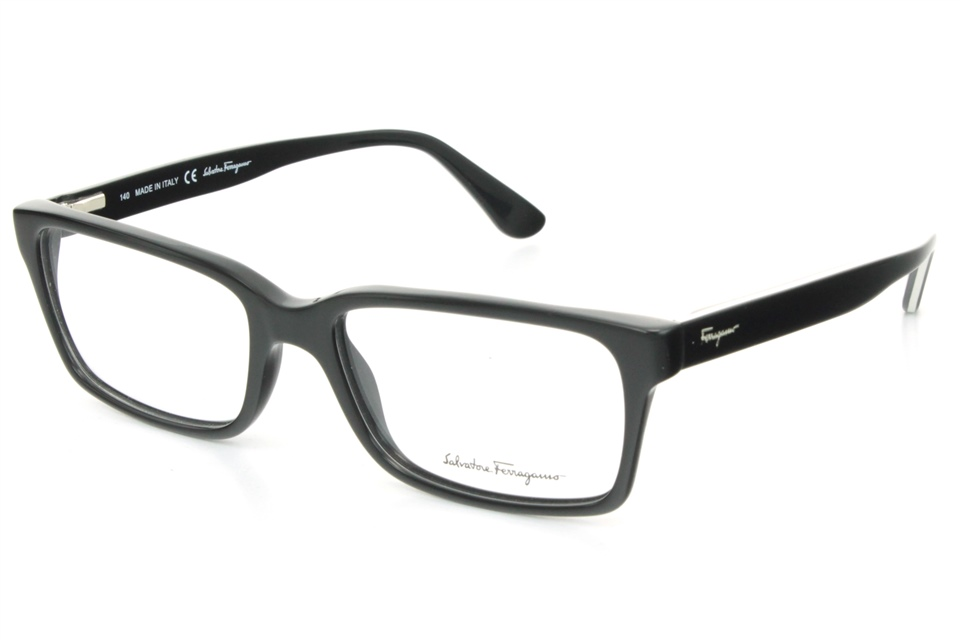 salvatore ferragamo sf2670 001 black salvatore ferragamo glasses frames from all4eyes