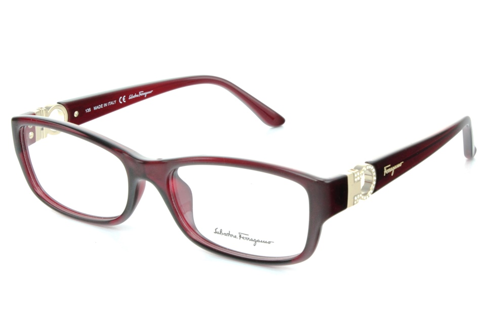 salvatore ferragamo sf2672r 605 pearl bordeaux salvatore ferragamo glasses frames from all4eyes