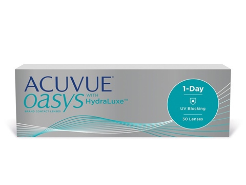 Acuvue Oasys 1-Day with HydraLuxe 30 Pack